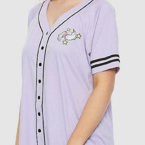 Super Cute Caticorn Baseball Jersey